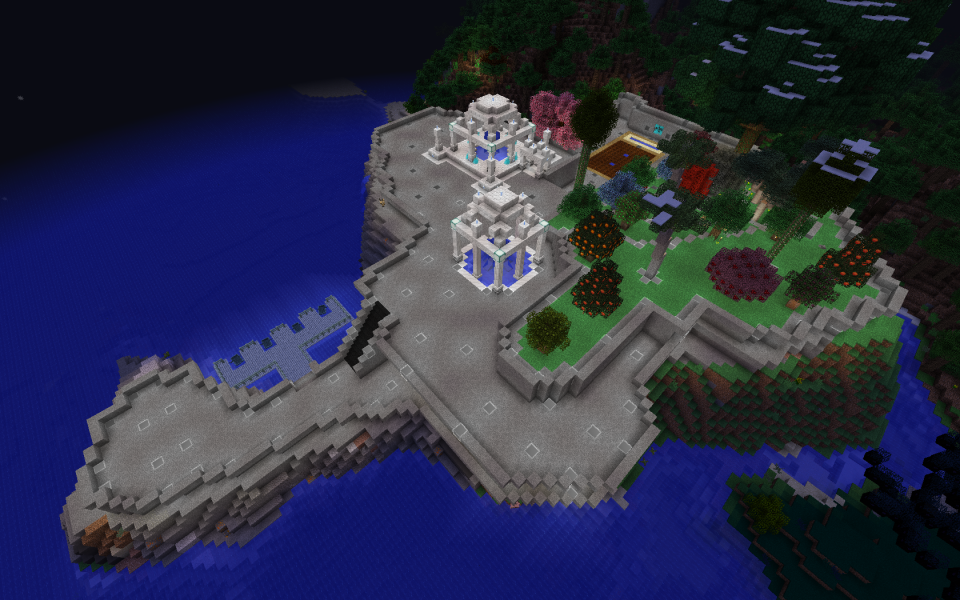 Not a terrible spawn area...